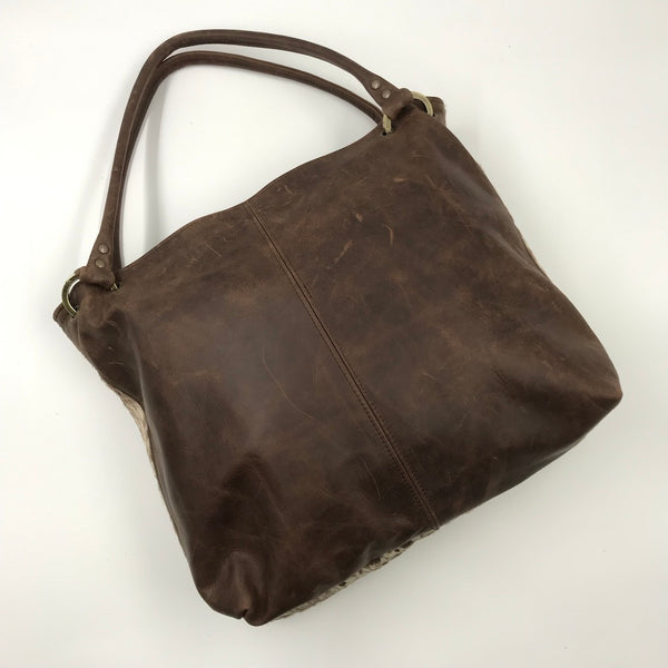 Owen Barry Rancho Cowhide Coxley Bag