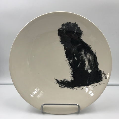 Dog Design Serving Bowl