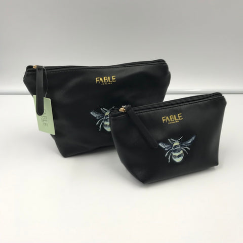 Vintage Bee Make-up Bags
