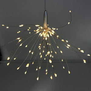 Hanging Starburst light - mains operated