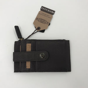 Wallet with Zip & Popper