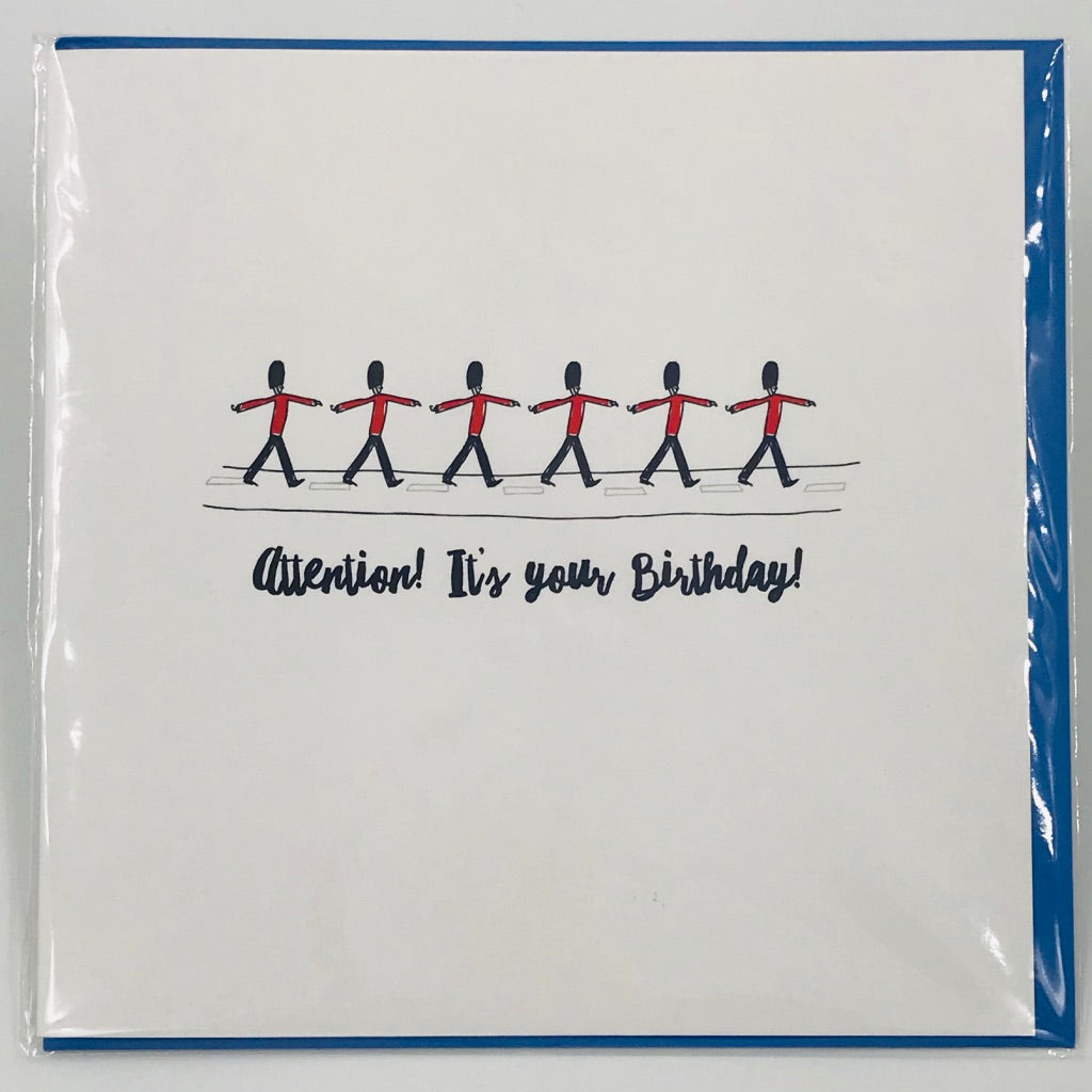 Attention, it's your birthday! - Card
