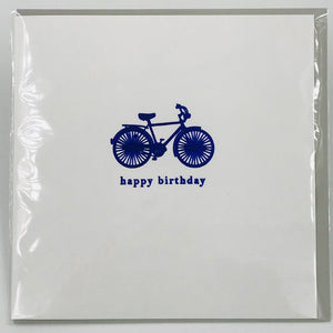 Blue Bike - Card