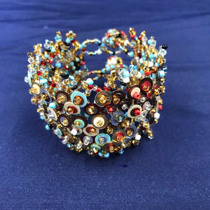 Sequin Wraparound Cuff