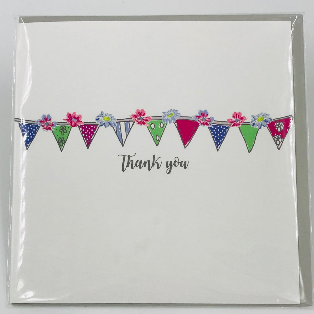 Thank You Bunting - Card