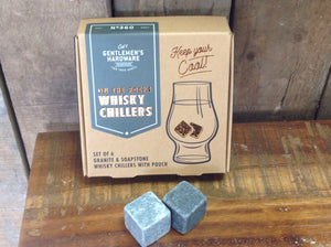 On the rocks Whisky Chillers