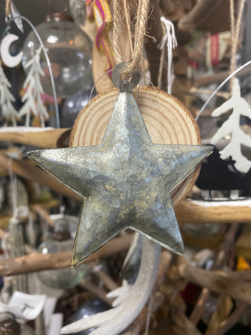 Metal Star Tree Decoration
