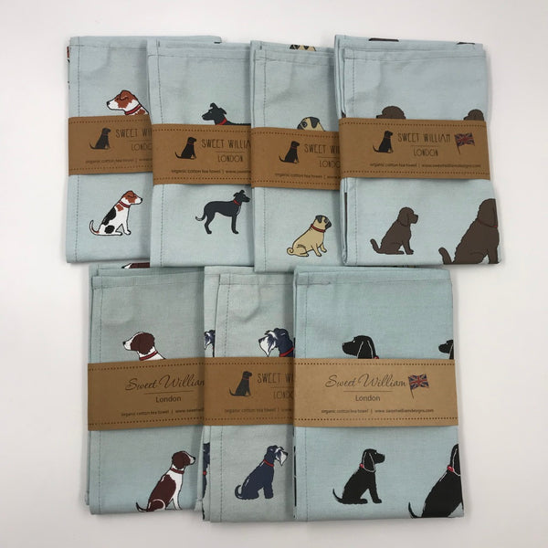 Doggy Tea Towel