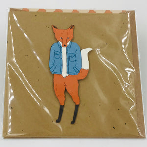 Barbour Fox - Card