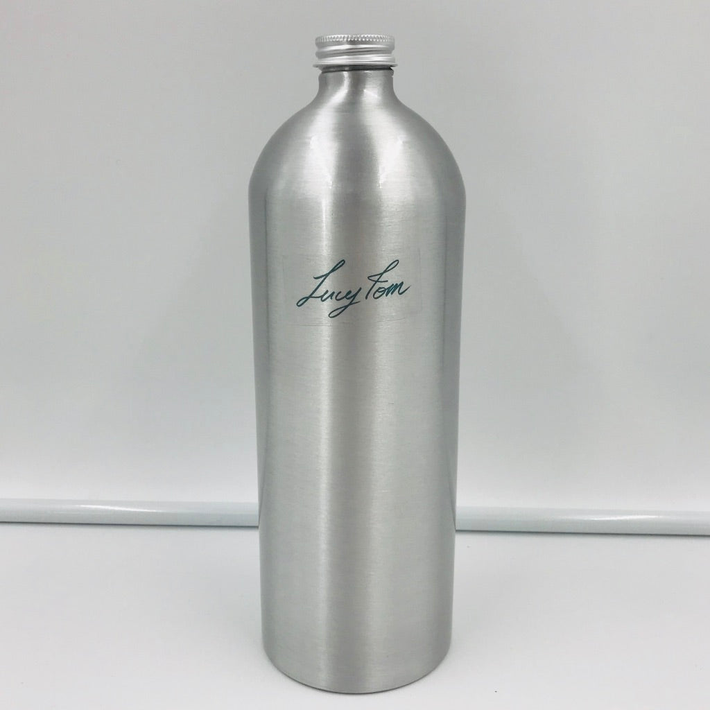 1 litre Aluminium Bottle