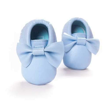Butterfly Knot Slip On Shoes For 0-24M