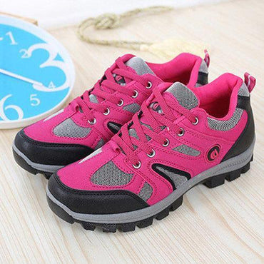 Color Blocking Breathable Shoes