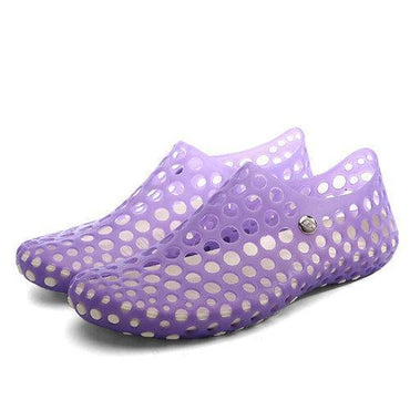 Big Size Hollow Out Breathable Slip On Casual Shoes