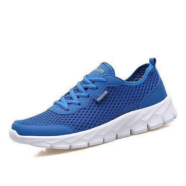 Large Size Breathable Mesh Pure Color Sport Casual Shoes