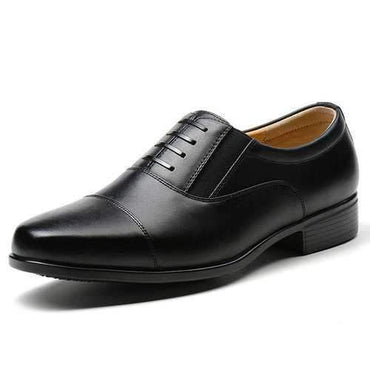 Men Classic Cap Toe Lace Up Business Formal Casual Shoes