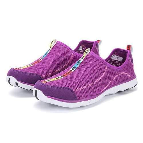 Large Size Quick Drying Breathable Mesh Slip On Outdoor Casual Shoes