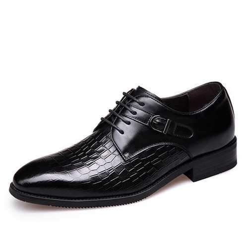 Men's Genuine Leather Vintage Business Dress Shoes
