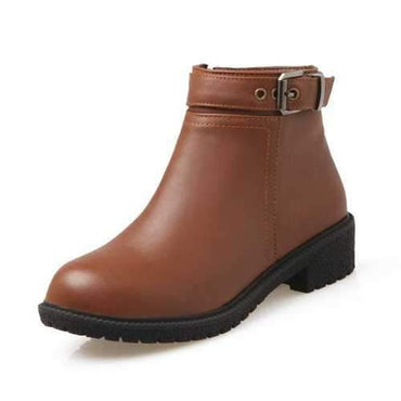 Plus Size Stylish Warm Soft Boots