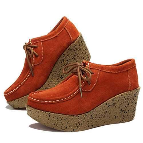 Wedges Platform Casual Shoes