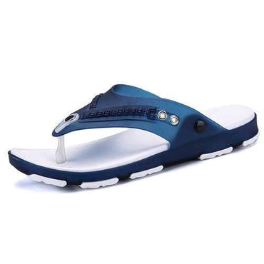Men Clip Toe Slippers Non-slip Casual Beach Shoes