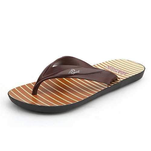 Men Cool Soft Beach Flip Flops