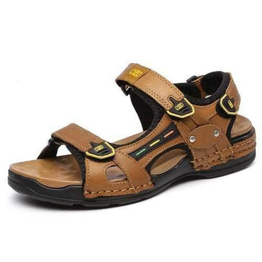 Men Outdoor Leather Sandals