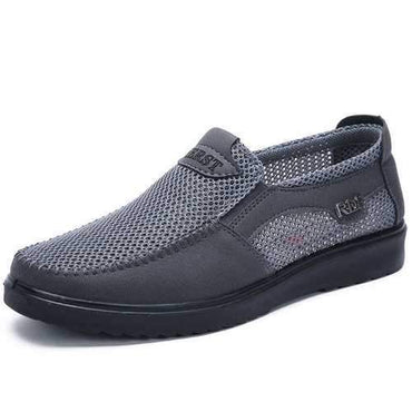 Men Old Peking Style Slip On Casual Shoes