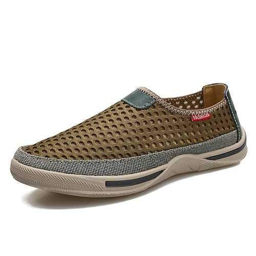 Men Honeycomb Mesh Casual Shoes