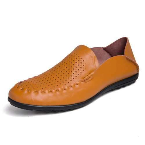 Men Microfiber Leather Casual Shoes