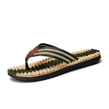Men Fabric Casual Beach Slippers