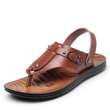 Men Clip Toe Soft Sole Casual Sandals
