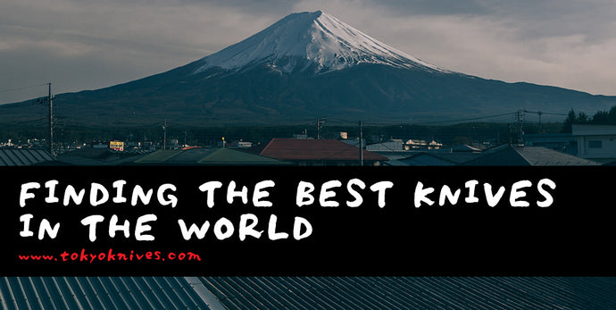 Hand Making Japanese Kitchen Knives: The Best Knives in the World