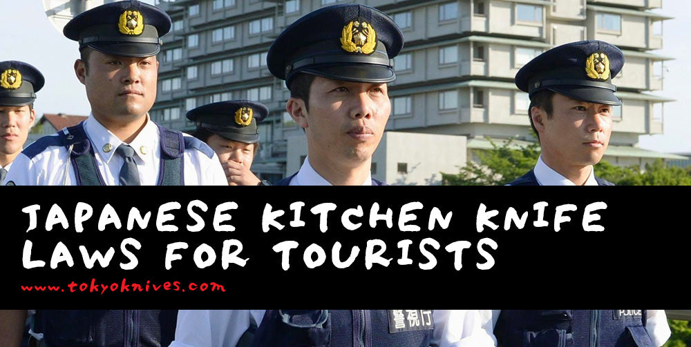 Japanese Kitchen Knife Laws for Tourists