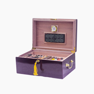 Personalized Tuscany Cherry Humidor (100 CT)