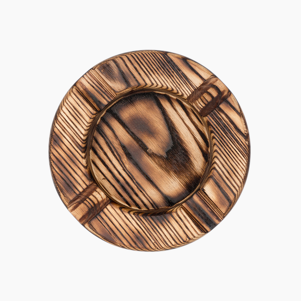 Spartacus Personalized Wood Ashtray (Torched)