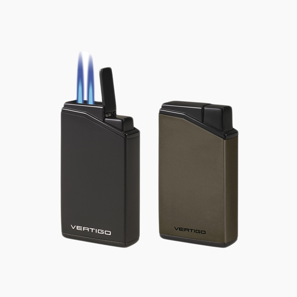 Valet Vertigo Double Flame Lighter