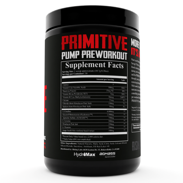 Primitive PUMP Preworkout - Rising Labs