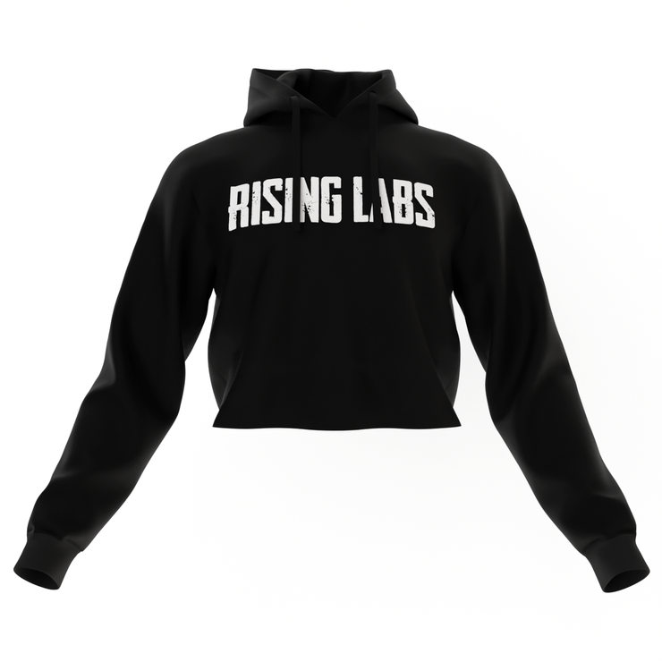 Rising Labs Crop Top Hoodies - Rising Labs