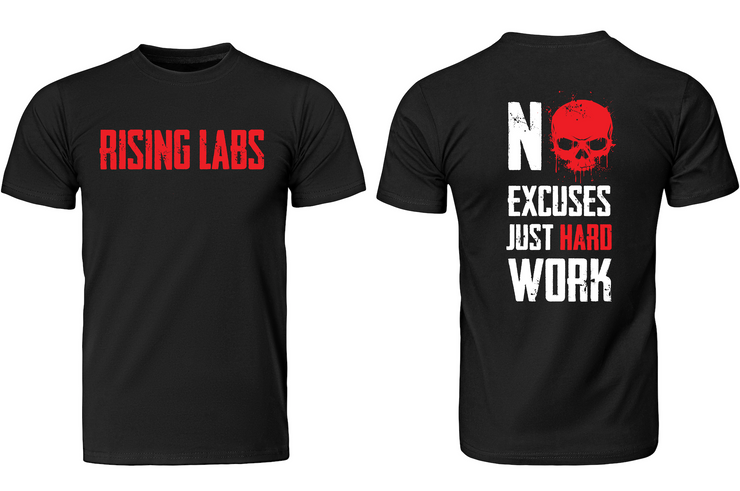 No Excuses Just Hard Work - Rising Labs