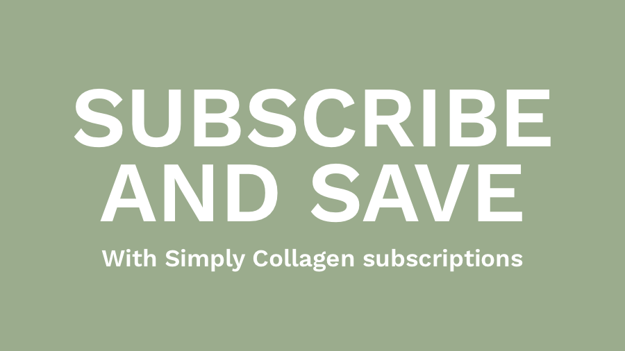Simply Collagen subscriptions now available