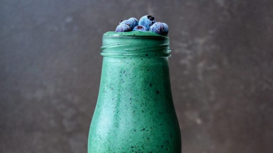 Spirulina collagen smoothie