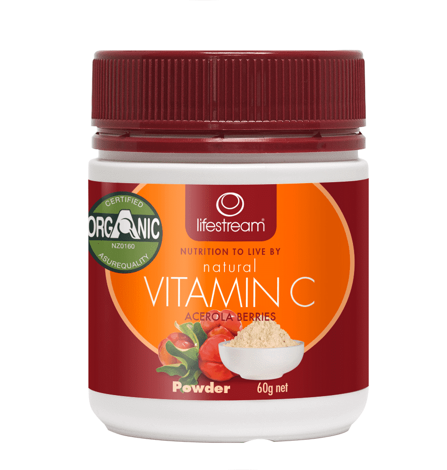 Vitamin C - Organic Lifestream Natural
