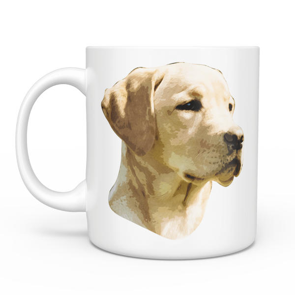 Custom Pet Portrait Mug, Coffee Mug - Dog Lover Gift For Her