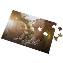 Custom Save The Date Photo Puzzle 35-500 Pieces