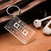 Spotify Song Code Keychain Custom Music Tape Keyring