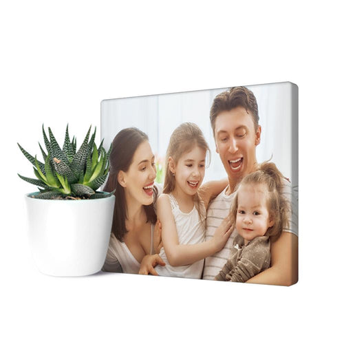 Personalized Photo Canvas Prints With Frame