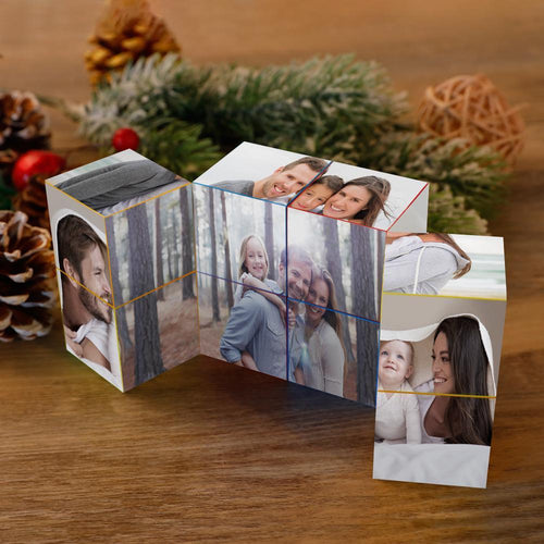 DIY Infinity Photo Cube Custom Folding Photo Cube Personalized Rubik's Cube