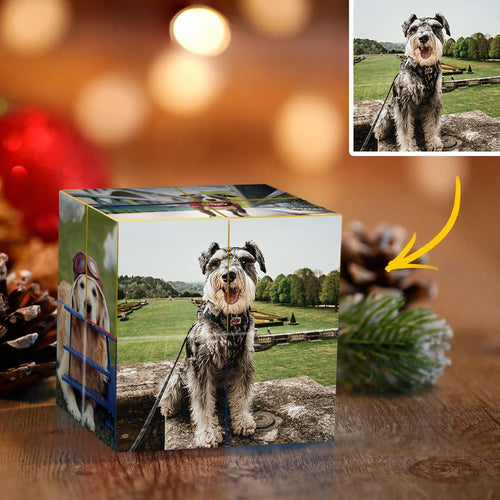 Custom Photo Cube DIY Infinity Photo cube Folding Photo Cube Personalized Gifts