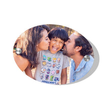 Custom Photo Door Signs Personalized House Signs Plates Door Plates Oval - Family