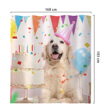 Custom Pet Photo Shower Curtain Unique Gift Waterproof Shower Curtain